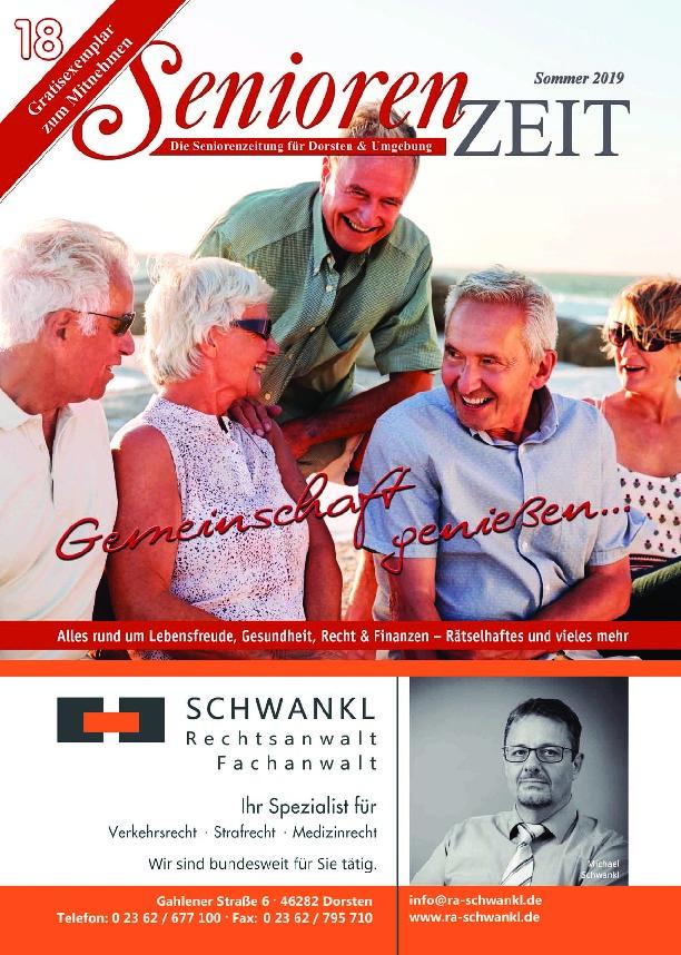 SeniorenZeit Sommer 2019