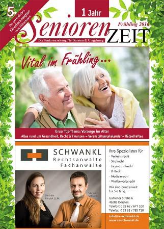 Frühlingsausgabe SeniorenZeit 16